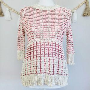 Anthropologie Fiets Voor 2 Hidden Glow Sweater XS
